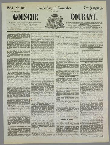 Goessche Courant 1884-11-13