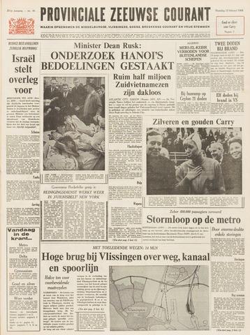 Provinciale Zeeuwse Courant 1968-02-12