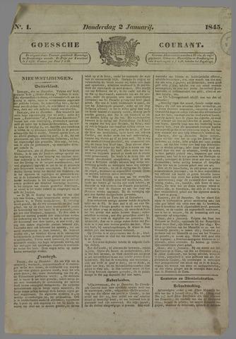 Goessche Courant 1845