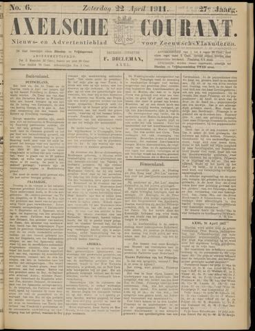 Axelsche Courant 1911-04-22
