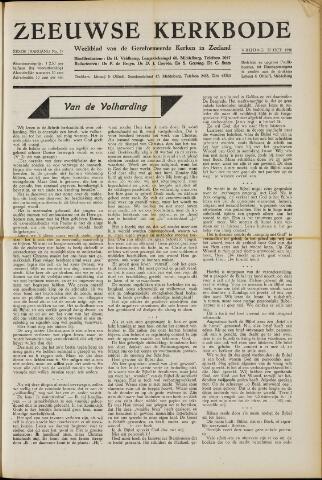 Zeeuwsche kerkbode, weekblad gewijd aan de belangen der gereformeerde kerken/ Zeeuwsch kerkblad 1950-10-27