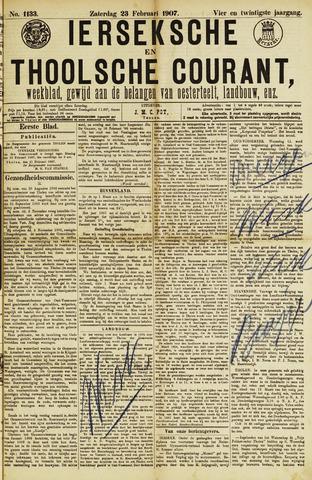 Ierseksche en Thoolsche Courant 1907-02-23