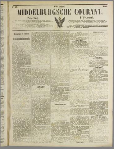 Middelburgsche Courant 1908-02-01