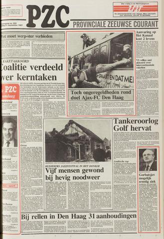 Provinciale Zeeuwse Courant 1987-09-21