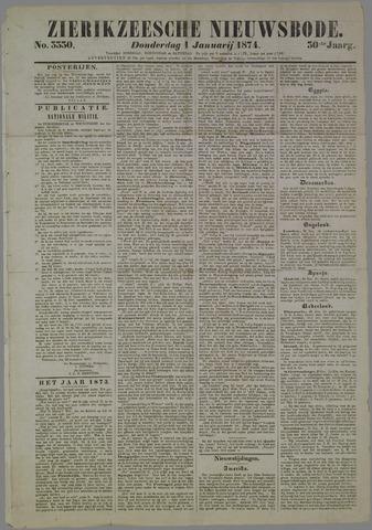 Zierikzeesche Nieuwsbode 1874-01-01