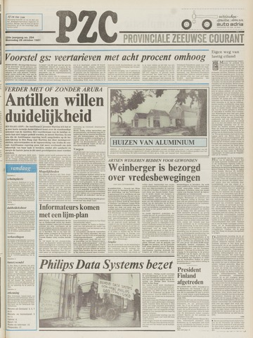 Provinciale Zeeuwse Courant 1981-10-28