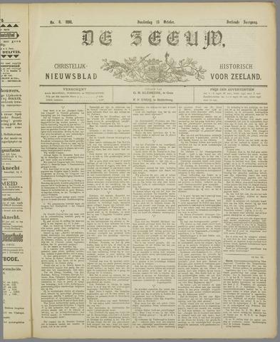 De Zeeuw. Christelijk-historisch nieuwsblad voor Zeeland 1898-10-13