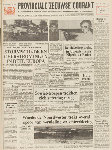 Provinciale Zeeuwse Courant 1968-07-12