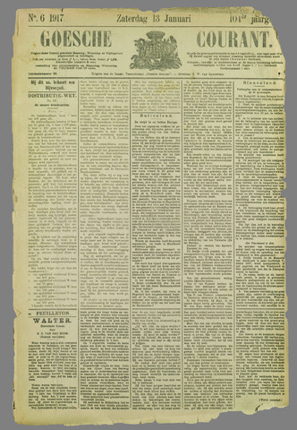 Goessche Courant 1917-01-13