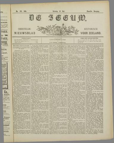 De Zeeuw. Christelijk-historisch nieuwsblad voor Zeeland 1898-07-16