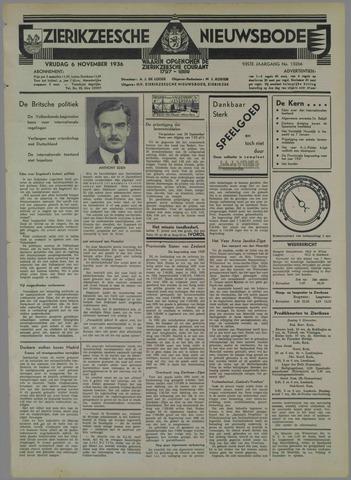 Zierikzeesche Nieuwsbode 1936-11-06