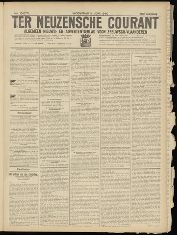Ter Neuzensche Courant. Algemeen Nieuws- en Advertentieblad voor Zeeuwsch-Vlaanderen / Neuzensche Courant ... (idem) / (Algemeen) nieuws en advertentieblad voor Zeeuwsch-Vlaanderen 1940-06-05