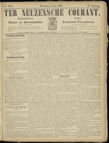 Ter Neuzensche Courant. Algemeen Nieuws- en Advertentieblad voor Zeeuwsch-Vlaanderen / Neuzensche Courant ... (idem) / (Algemeen) nieuws en advertentieblad voor Zeeuwsch-Vlaanderen 1887-07-13