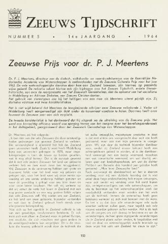 Zeeuws Tijdschrift 1964-09-01