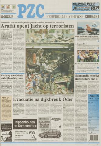 Provinciale Zeeuwse Courant 1997-07-31