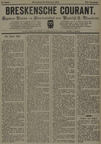 Breskensche Courant 1915-02-24