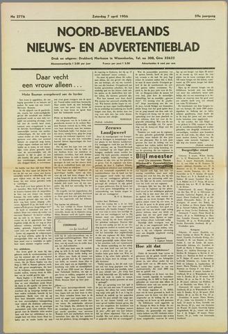 Noord-Bevelands Nieuws- en advertentieblad 1956-04-07