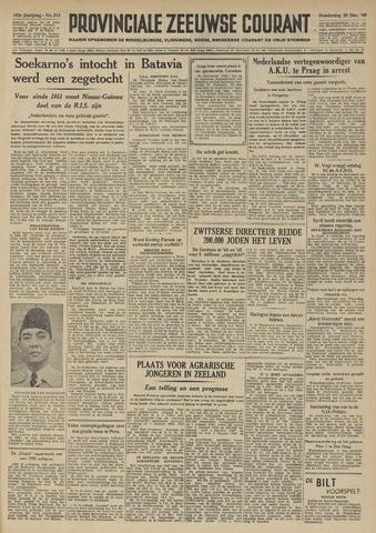 Provinciale Zeeuwse Courant 1949-12-29