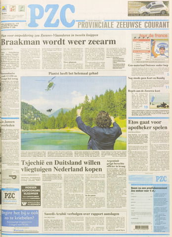 Provinciale Zeeuwse Courant 2003-07-26