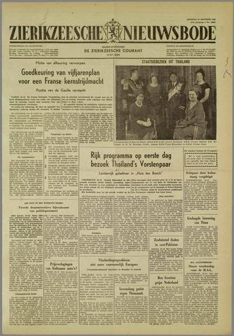 Zierikzeesche Nieuwsbode 1960-10-25