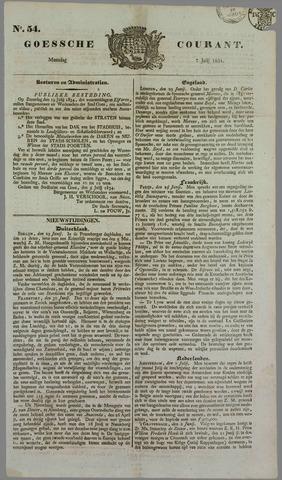 Goessche Courant 1834-07-07