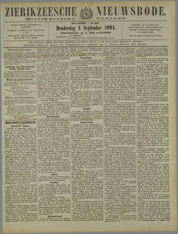 Zierikzeesche Nieuwsbode 1904-09-01