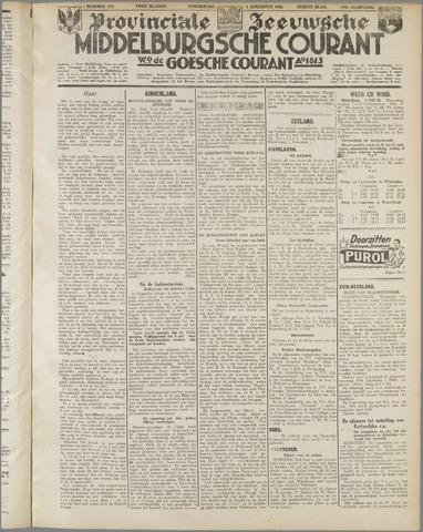 Middelburgsche Courant 1935-08-01