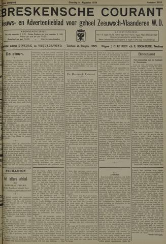 Breskensche Courant 1934-08-14