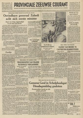 Provinciale Zeeuwse Courant 1953-08-19