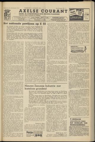 Axelsche Courant 1955-01-15