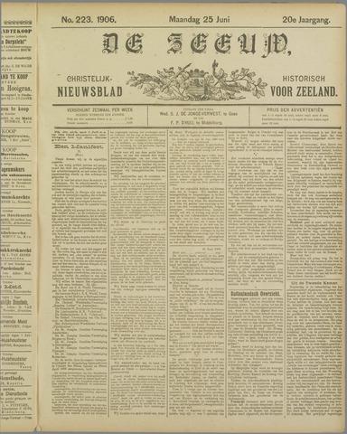 De Zeeuw. Christelijk-historisch nieuwsblad voor Zeeland 1906-06-25