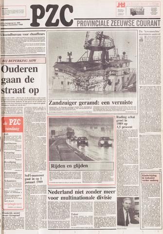 Provinciale Zeeuwse Courant 1988-12-02