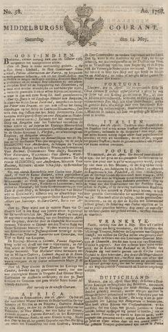 Middelburgsche Courant 1768-05-14