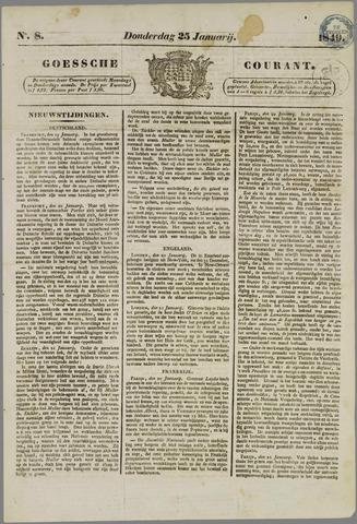 Goessche Courant 1849-01-25