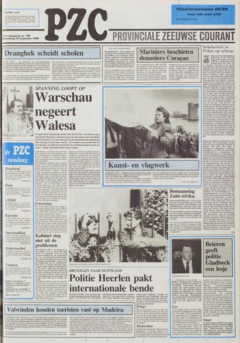 Provinciale Zeeuwse Courant 1988-08-24
