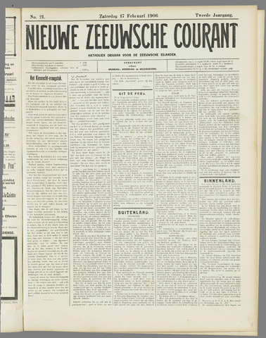 Nieuwe Zeeuwsche Courant 1906-02-17