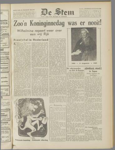 de Stem 1945-08-30