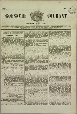 Goessche Courant 1853-06-23