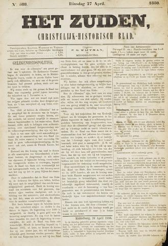 Het Zuiden, Christelijk-historisch blad 1880-04-27