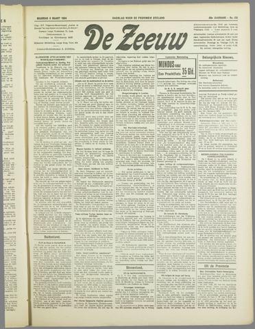 De Zeeuw. Christelijk-historisch nieuwsblad voor Zeeland 1934-03-05