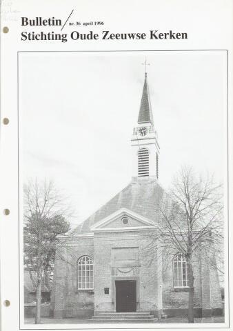 Bulletin Stichting Oude Zeeuwse kerken 1996