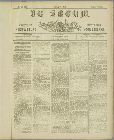 De Zeeuw. Christelijk-historisch nieuwsblad voor Zeeland 1895-04-06