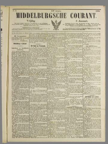 Middelburgsche Courant 1906-01-05