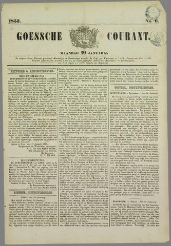 Goessche Courant 1852-01-19