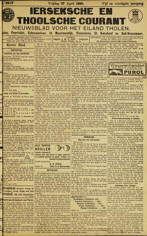 Ierseksche en Thoolsche Courant 1928-04-27