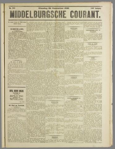 Middelburgsche Courant 1925-12-22