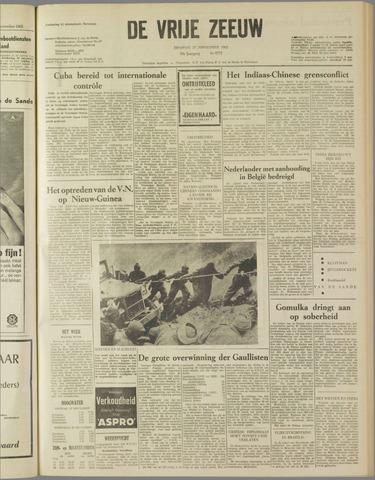 de Vrije Zeeuw 1962-11-27