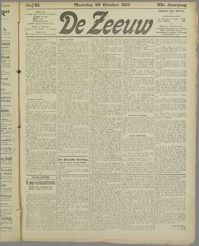De Zeeuw. Christelijk-historisch nieuwsblad voor Zeeland 1917-10-29