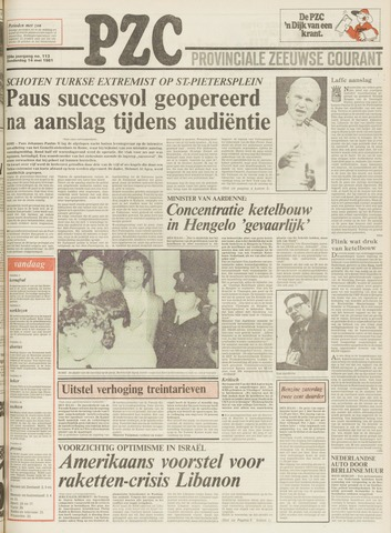 Provinciale Zeeuwse Courant 1981-05-14