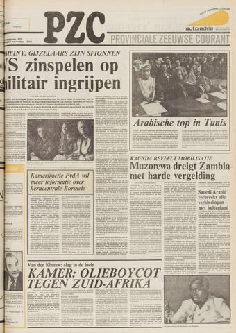 Provinciale Zeeuwse Courant 1979-11-21
